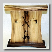Myrtlewood pagoda clock 1